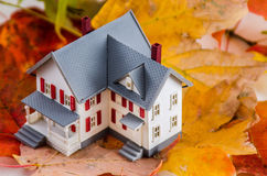 Home in the Fall Royalty Free Stock Photo