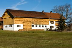 Home and Farmshed, Germany Stock Image