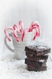 A HOME fez brownies Fotografia de Stock
