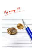 Home finance budget Royalty Free Stock Image