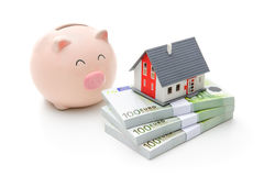 Home finances stock image