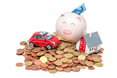 Home finances Stock Photography