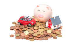 Home finances Stock Image