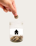 Home finances Stock Photo