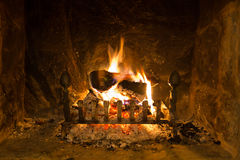 Home fire Royalty Free Stock Images