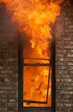 Home Fire Royalty Free Stock Photo