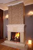 Home fireplace