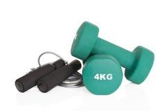 Home fitness equipment Stock Image