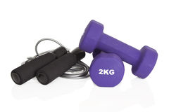 Home fitness equipment Royalty Free Stock Image