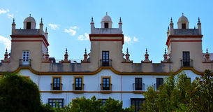 Home of the five towers, Spain square, Cadiz Royalty Free Stock Photography