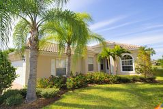 Home in Florida Royalty Free Stock Photos