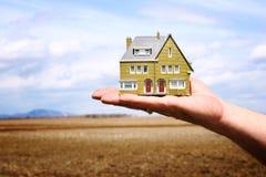 home flytta sig som är nytt royaltyfri foto