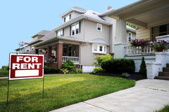 Free Home For Rent Sign Royalty Free Stock Photo - 14473255