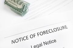 Home foreclosure Royalty Free Stock Photo