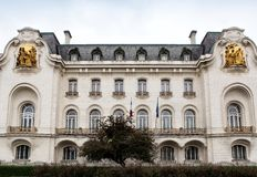 The home of the French embassy in Vienna Royalty Free Stock Photography