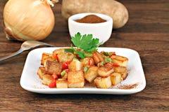 Home Fried Potatoes Stock Image