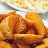 Home fries Royalty Free Stock Images