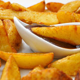Home fries Stock Images