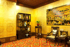 Home furnishings. Classical chinese style home furnishings, beijing china Stock Photos