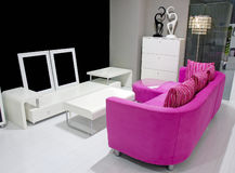 Home furniture. This is a selection of home furniture Royalty Free Stock Images