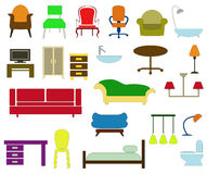 Home furniture Royalty Free Stock Photography