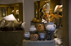 Home furniture and decor store. A home decor store selling halloween decorations in Bellevue Square Seattle Royalty Free Stock Photo