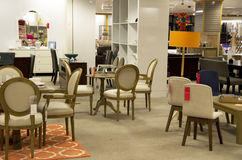 Home furniture department store stock photos