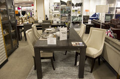 Home furniture department store Stock Images