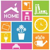 Home and furniture Royalty Free Stock Photo