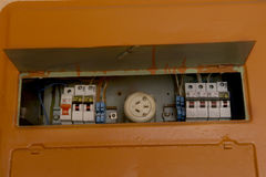 old home fuse box panel rusted electrical equipment stock photo home fuse box stock image