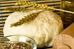 A HOME fêz o pão Imagens de Stock