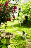 Home and garden royalty free stock photography