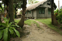 Tropical home and garden philippines lifestyle Stock Images