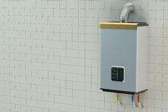Home gas boiler,  water heater Stock Images