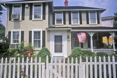 Home in Glen Echo, Maryland Royalty Free Stock Photography