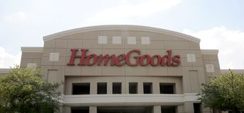 Home Goods Store Sign Royalty Free Stock Images