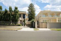 HOME grande da mansão Fotografia de Stock Royalty Free