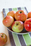 Home grown apples Royalty Free Stock Images