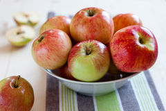 Home grown apples Royalty Free Stock Photo