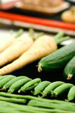 Home grown fresh vegetables Royalty Free Stock Photo