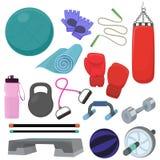 Home gym equipment Stock Photos