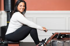 Home Gym Workout Stock Images