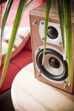 home högtalare för underhållning Arkivfoto