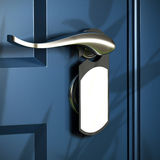 Home, handle grey door hanger Royalty Free Stock Image