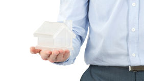 Home in hands Royalty Free Stock Photo