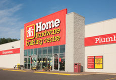 Home Hardware Retail Outlet Stock Photos