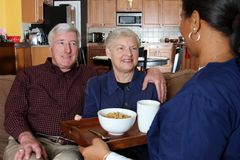 Home Health Care Stock Photo