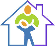 Home health carelogo Royalty Free Stock Photo