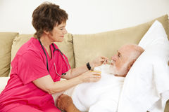 Home Health - Fluid Intake Stock Photos
