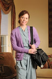 Home health nurse Royalty Free Stock Image